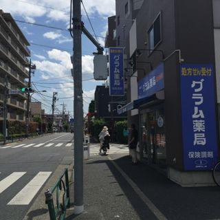 井草通りバス停 道のり